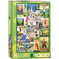 Eurographics Puzzle Světový golf 1000 dílků - Puzzle