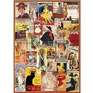 Eurographics Puzzle Vintage plakáty z opery a divadla 1000 dílků - Puzzle