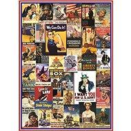 Eurographics Puzzle Plakáty z 1. a 2. světové války 1000 dílků - Puzzle