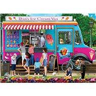 Eurographics Puzzle Danův zmrzlinářský vůz 1000 dílků - Puzzle