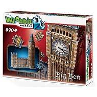 Wrebbit 3D puzzle Big Ben a Westminsterský palác 890 dílků - 3D puzzle