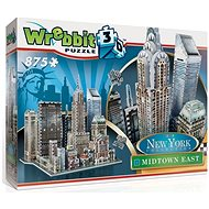 Wrebbit 3D puzzle New York Midtown East 875 dílků