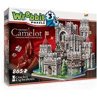 Wrebbit 3D puzzle Hrad Kamelot 865 dílků