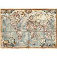 Educa Puzzle Stará politická mapa světa 1500 dílků - Puzzle