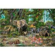 Educa Puzzle Africká džungle 2000 dílků - Puzzle