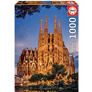 Educa Puzzle Sagrada Familia, Barcelona (Španělsko) 1000 dílků - Puzzle