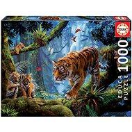 Educa Puzzle Tygři na stromě 1000 dílků - Puzzle