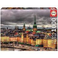 Educa Puzzle Pohled na Stockholm, Švédsko 1000 dílků - Puzzle