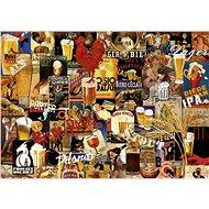 Educa Puzzle Pivní koláž 1000 dílků - Puzzle