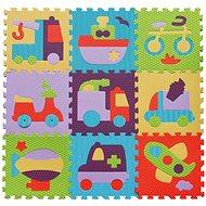 Baby Great Pěnové puzzle Barevná doprava SX (30x30) - Pěnové puzzle