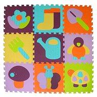 Baby Great Pěnové puzzle Barevná zahrádka SX (30x30) - Pěnové puzzle