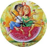Art Puzzle hodiny Milujeme červenou 570 dílků