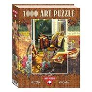 Dřevěné Puzzle Art Dřevěné puzzle Stín léta 1000 dílků - Dřevěné Puzzle