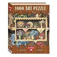 Dřevěné Puzzle Art Dřevěné puzzle Zahradní police 1000 dílků - Dřevěné Puzzle