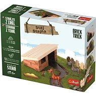 Trefl Brick Trick Stáj - Stavebnice