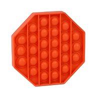 Pop it - osmihran oranžový