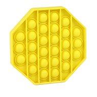 Pop it - osmihran žlutý
