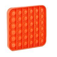 Pop it - čtverec oranžový