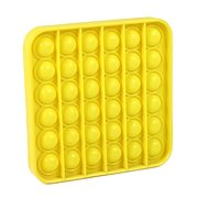 Pop it - čtverec žlutý