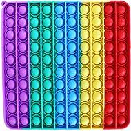 Mega Pop It Square Rainbow - Board Game