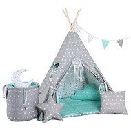 Set teepee stan mátový Luxury - Dětský stan