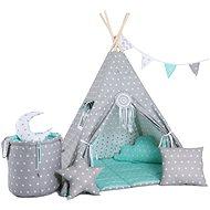 Set teepee stan mátový Standard - Dětský stan