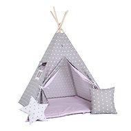 Set teepee stan králičí tlapka Luxury - Dětský stan