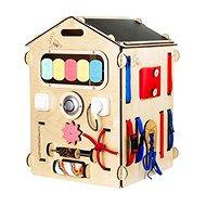 Activity board domeček natura - Didaktická hračka