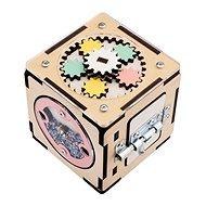 Activity board montessori kostka - Didaktická hračka