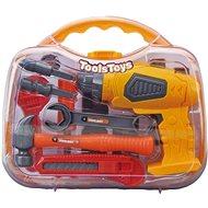 G21 Dětské nářadí s vrtačkou v kufříku žluto-šedé