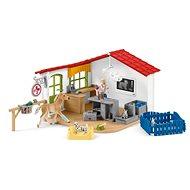 Schleich 42502 Veterinární ordinace pro domácí zvířata - Herní set