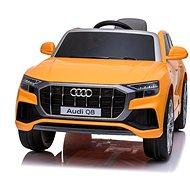 Audi Q8, žluté - Dětské elektrické auto