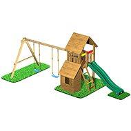 CUBS Honza 7 - věž s dvojhoupačkou a domečkem - Herní set