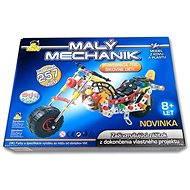 Malý mechanik - Motorka - Stavebnice