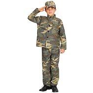 Šaty na karneval - Voják vel. M - Dětský kostým