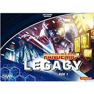 Pandemic Legacy - Rok 1 (Modrá krabice) - Společenská hra