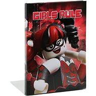 LEGO Batman Movie Zápisník Harley Quinn/Batgirl - Blok na psaní