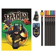 LEGO Batman Movie Papírnický set se zápisníkem - Sada kancelářských potřeb