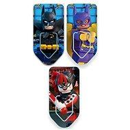 LEGO Batman Movie Záložky Batman/Harley Quinn/Batgirl - Sada kancelářských potřeb