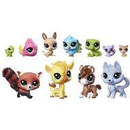 Littlest Pet Shop Velký sběratelský set 11 ks zvířátek - Herní set