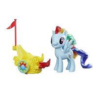 My Little Pony Poník s vozíkem Rainbow Dash - Herní set