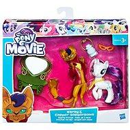 My Little Pony Set 2 poníků s doplňky Rarity a Capper Dapperpaws - Herní set