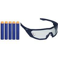 Nerf Elite brýle a 5 ks šipek - Dětská pistole