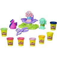 Play-Doh Trolls vlasový salon - Modelovací hmota
