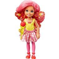 Barbie víla Chelsea tmavě růžová - Panenka