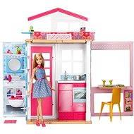 Barbie Dům 2V1 a panenka - Panenka