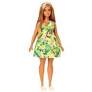 Barbie Fashionistas Žluté letní šaty - Panenka