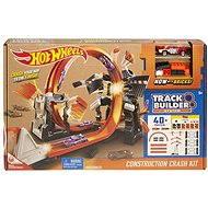 Hot Wheels Track Builder Bourací set - Herní set