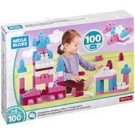 Mega Bloks Růžové stavění s fantazií (100) - Stavebnice