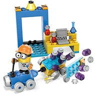 Mega Bloks Mimoňové Laboratoř s vozidlem - Stavebnice